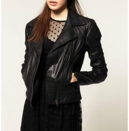 Black Leather Moto Jacket, Leather Jackets For Women, Fashion Jackets