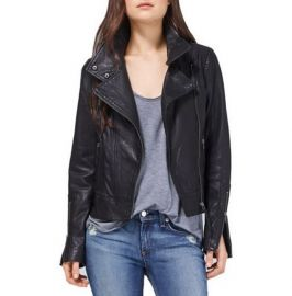 Women Leather Jacket, Real Leather Jacket Black, Biker Fashion Jacket