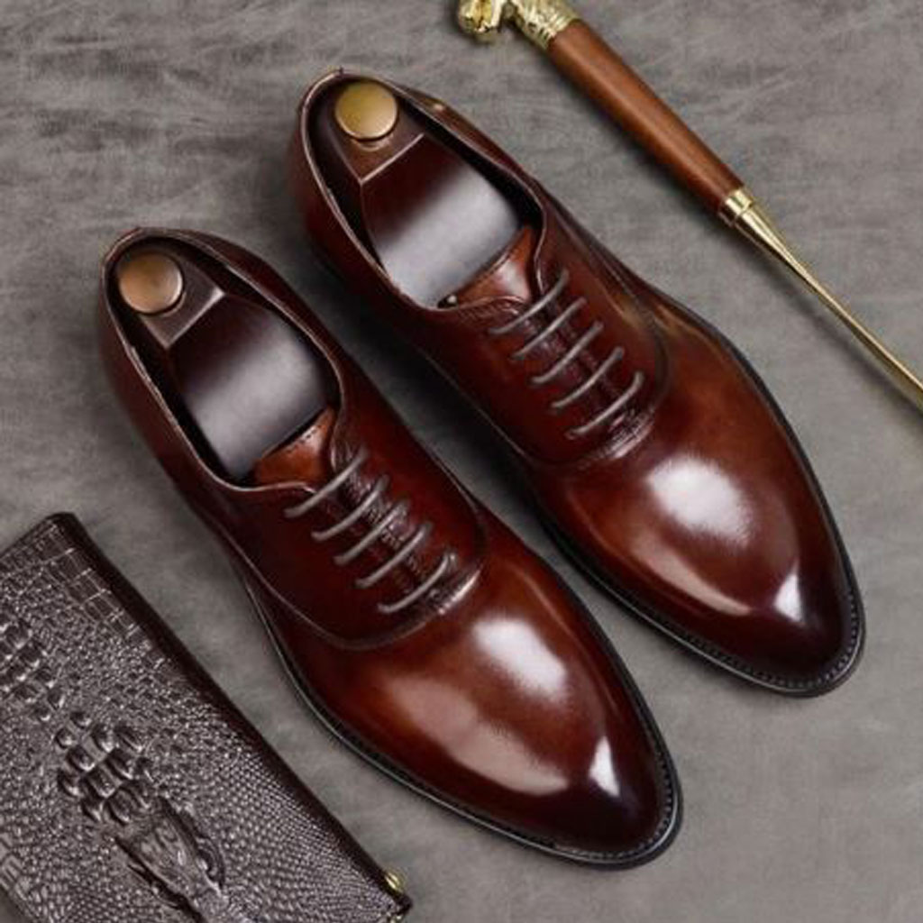 Quality Leather in Men's Designer Dress Shoes